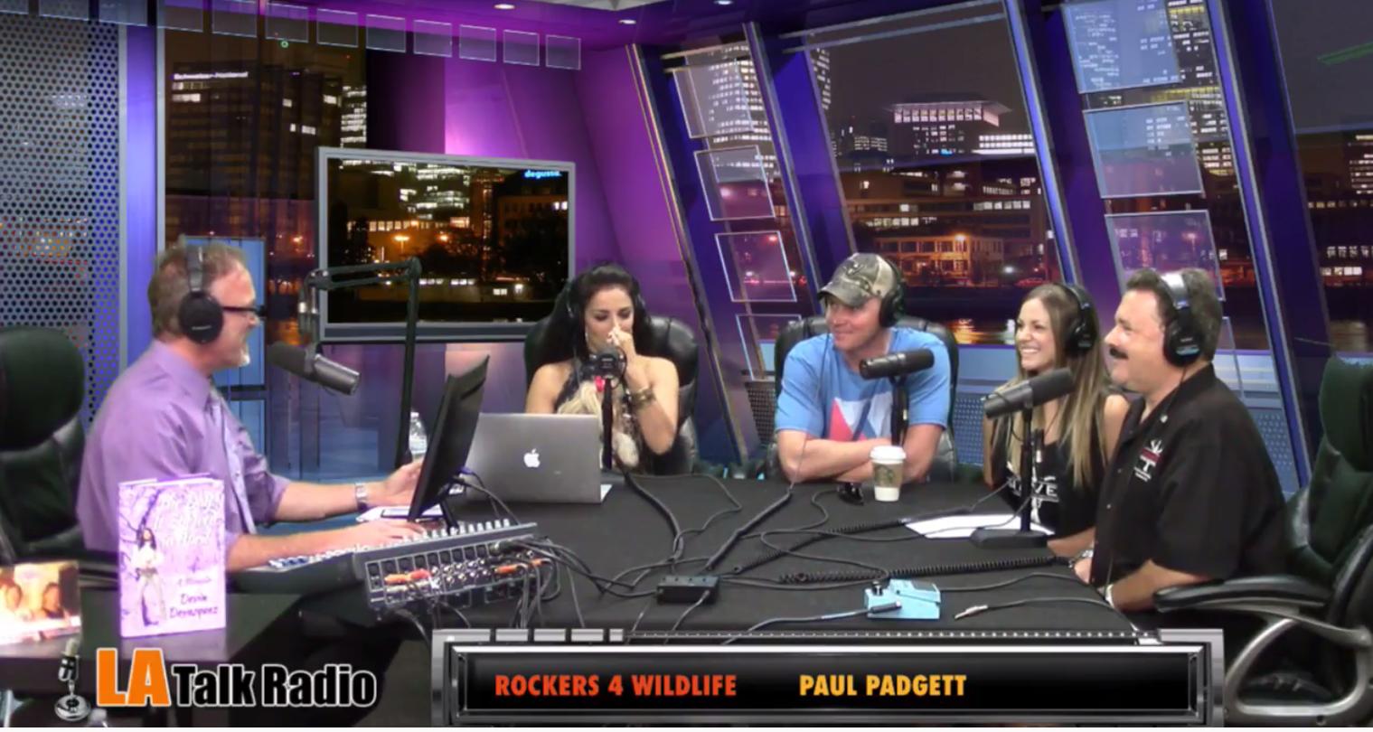 LA Talk Radio Rockers for Wildlife with Paul Padgett